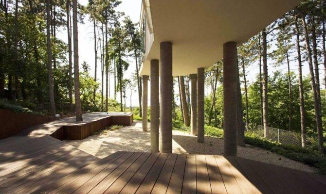 Summer House Pillars Munkacsoport Gessato Gblog Blog