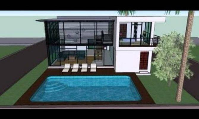 Swimming Pool Design Modern House Plans