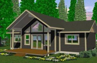 Tabor Prefab Cabin Cottage Plans Winton Homes
