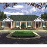 Terrell Creek Duplex Home Plan House Plans More