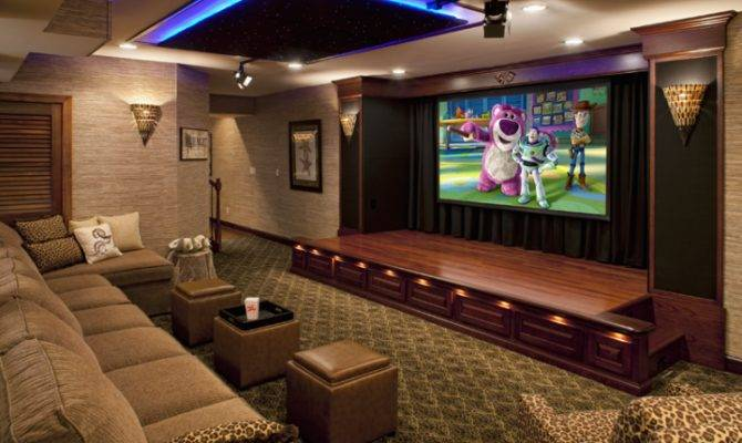 Theatre Room Design Ideas Home Touches