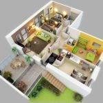 Three Bedroom House Apartment Floor Plans
