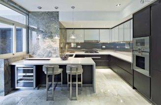 Three Bedroom Kitchen Cabinet Showroom Modern