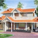 Tiles Roof House Feet Kerala Home Design Floor Plans