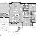 Single Story Bedroom House Plans Por Open Floor