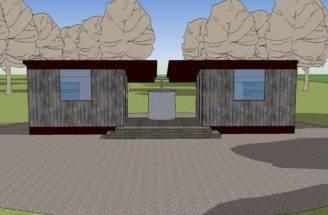 Tiny Dogtrot House Design