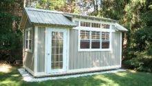 Tiny House Cabin Folk Art Collection Studio