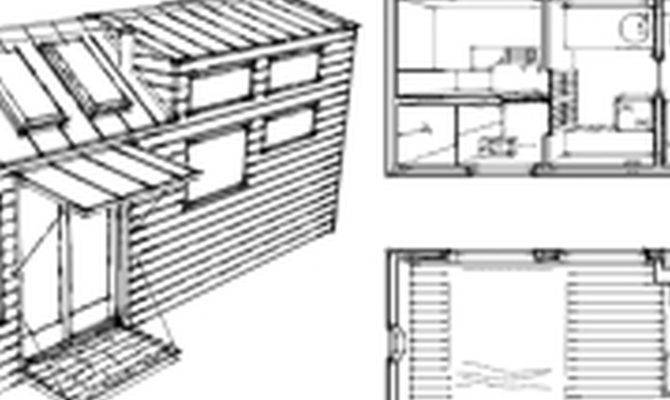 Tiny House Wheels Plans Cottage