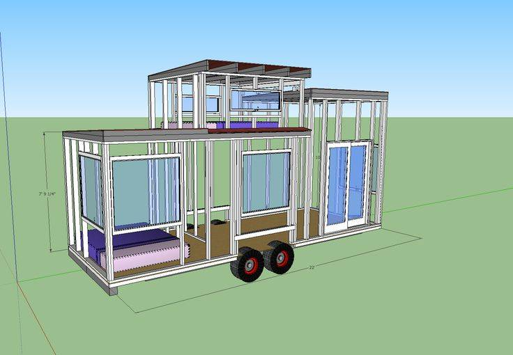 Tiny House Wheels Plans New Years Pinterest Home