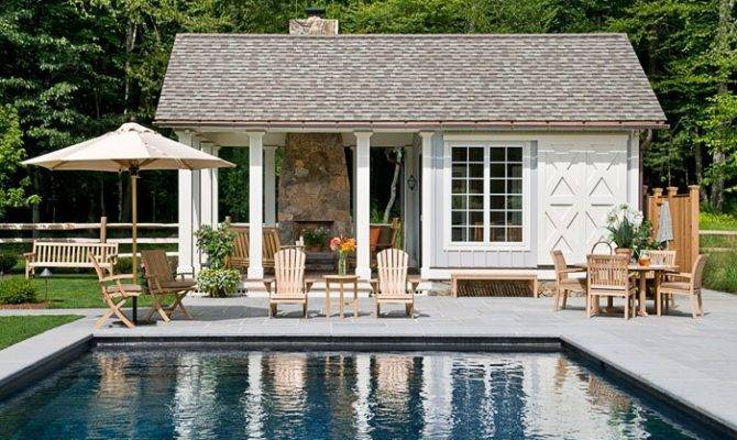 Tips Gorgeous Pool House Designs Ark