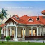 Traditional Kerala Style House Separate Garage Home