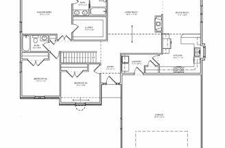 Traditional Single Level House Plan