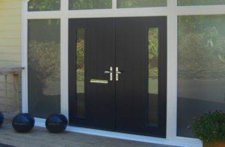 Triple Glazed Doors Composite French Upvc