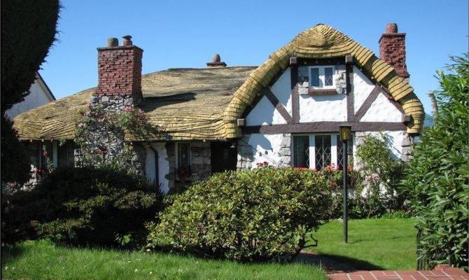 Tudor Cottage Fairytale Hobbit Houses Storybook Architecture Pint