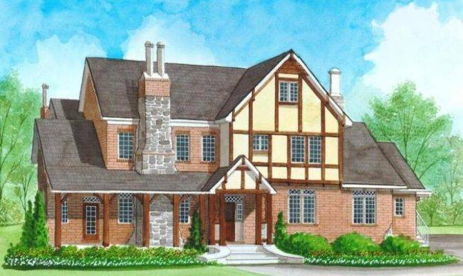 Tudor House Plans Home Building Products Guide