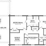 Twin Pines Log Home Plan Southland Homes