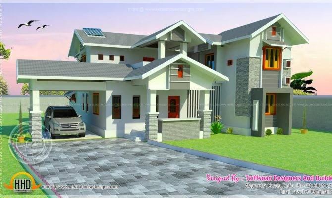 Two Storied House Square Feet