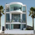 Two Story Modern House Designs Three Beach