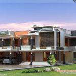 Unique Modern Villa Design Kerala Home Floor Plans