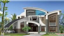 Unique Super Luxury Kerala Villa Indian House Plans
