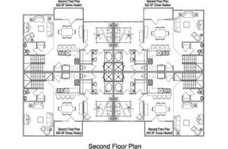 Unit Apartment Building Plans Multifamilybuildingplans
