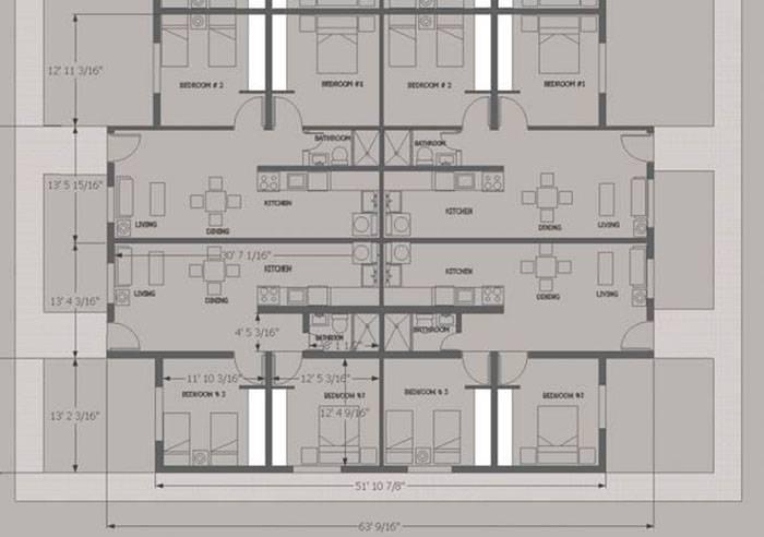 4 Unit House Plans,House.Home Plans Ideas Picture