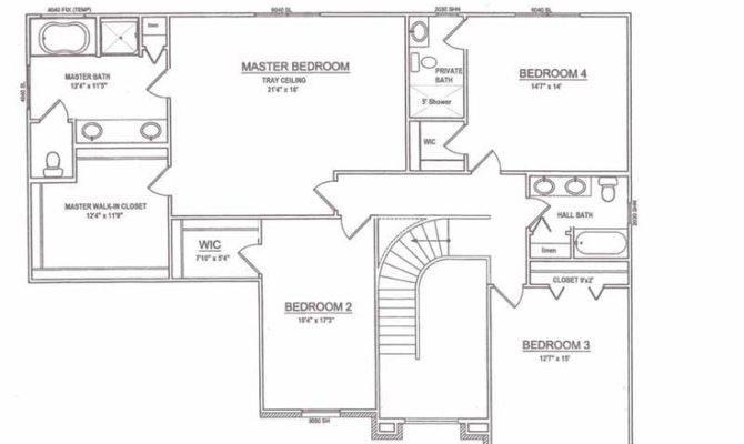 Upstairs Floor Plan Lake Orion House Pinterest