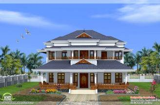 Vastu Based Traditional Kerala Style Home Sweet