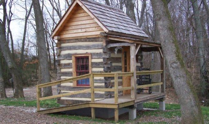 Very Small Log Homes Burkconstruction Galleries Home