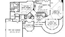 Victorian House Plan First Floor Plans More