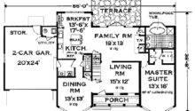 Victorian House Plans Grass Creek Home Plan