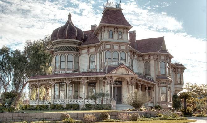 Victorian House Redlands California Sunsurfer