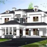 Victorian Model House Exterior Design Plans