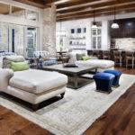 Villa Open Plan Design Between Living Room Kitchen Best Interior