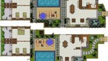 Villa Plan Floor Plans Marla House