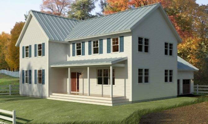 Vintage Farmhouse Plans Front Elevation Plan