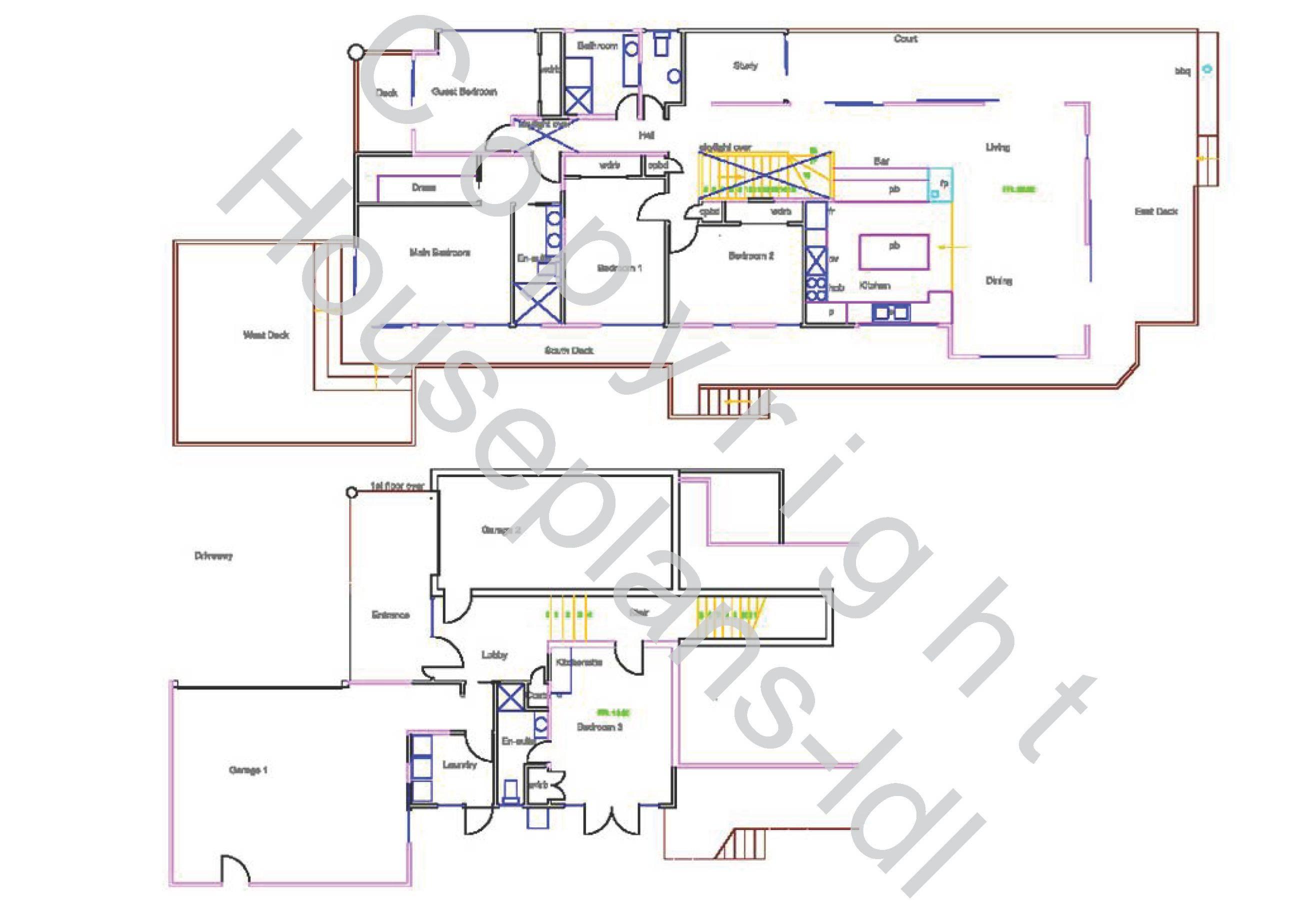 Virtual House Plan Home Floor Small Houses Buy Plans