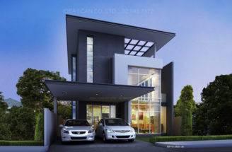 Visualization User Community Two Story House Plans Modern Black Beam