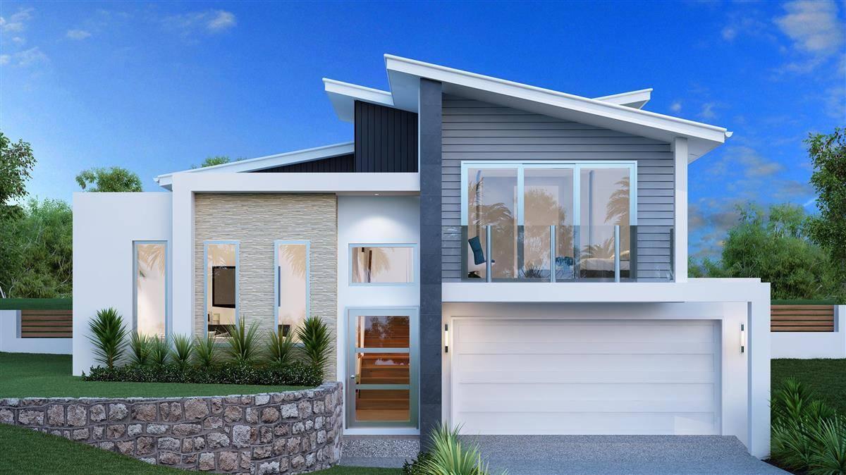 waterford split level home designs brisbane north bayside