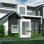 Western Style Modern Home Kerala Design Floor Plans