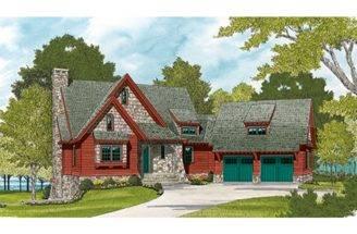 Wood Stone Cottage Hwbdo Builderhouseplans