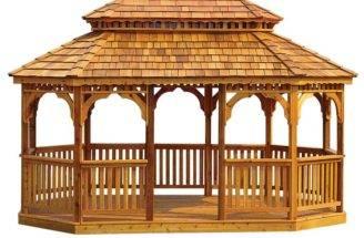 Wooden Gazebo Plans Build Perfect