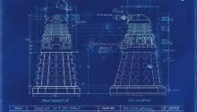 Work Well Need Some Blueprints Then Dalek Blueprint Doctor