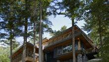 World Architecture Forest House Lake Joseph Cottage Altius