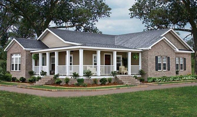 Wrap Around Porch Ideas Modern Farm House Pinterest