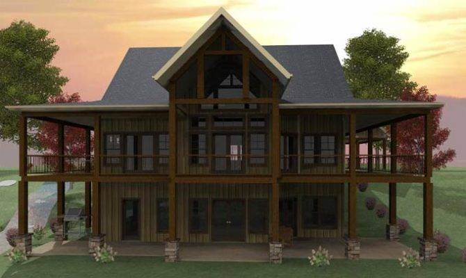 Wraparound Porch Walkout Basement