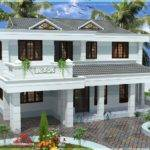 Yards Double Storied House Design Kerala Home Floor Plans