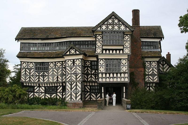 Above Little Moreton Hall Wikipedia