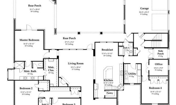 Acadian Design House Plans Floor