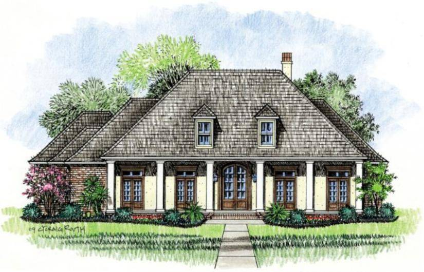 Acadian Home Designs Due Style